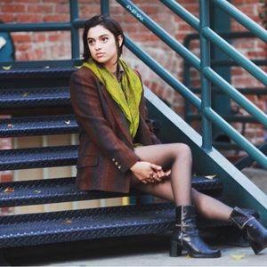 Vintage Liz Claiborne wool pinstripe jacket
